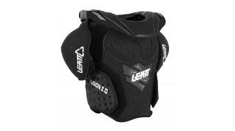 Leatt Fusion Vest 2.0 Junior protector de tronco niños-protector de tronco tamaño S/M negro