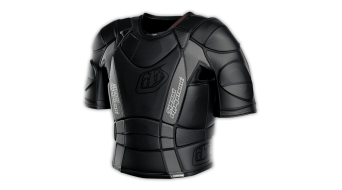 Troy Lee Designs UPS7850-HW camisa protectora de manga corta niños-camisa protectora corto sleeve Youth camiseta negro Mod. 2017