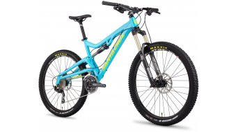 Santa Cruz Heckler aluminium 650B frame size L gloss-blue/green (FOX-Float-CTD-shock) 2013