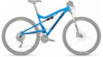 Santa Cruz Superlight 4.0 A 27.5 cuadro incl. Fox Float Performance azul/negro Mod. 2016