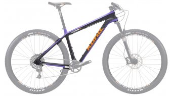 Kona King Kahuna 29 Rahmen carbon/purple/orange/white/black Mod. 2015