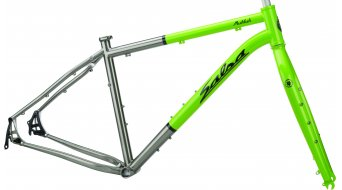 "Salsa Mukluk titanium 26"" Fat bike frame size S tequilla lime/black 2014"