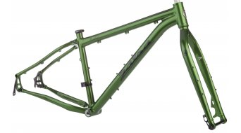 Salsa Mukluk 26 Fat bike kit telaio mis XS sparkly green Mod. 2015