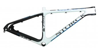 Storck Rebel Seven Rahmen Gr. M blue black white Mod. 2014