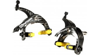 AX Lightness Orion carbon Road brakes set 3K-carbon, incl. Pads