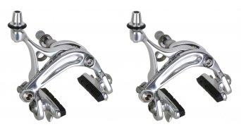 Campagnolo Veloce juego de frenos rueda delantera & rueda trasera Dual Pivot color plata BR15-VLSDP