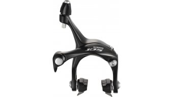 Shimano 105 Bremskörper HR CS49 10.5mm mit Bremsgummi R55C3 schwarz BR-5700 (RETAIL-Verpackung)