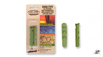 Kool-Stop Dura Type Bremsbeläge, grün, für Keramik-Felgen