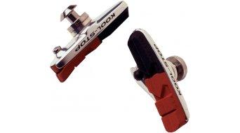 Kool-Stop Dura- type patin de freinage inkl. plaquette de frein, l axe/noir, double Compound