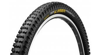 Continental the Kaiser project Apex wire bead tire 60-559 (26x2.40) black 6/360tpi Black Chili-compound