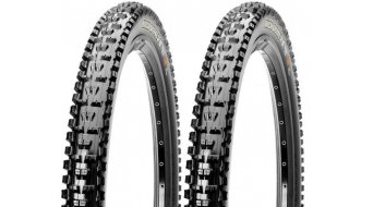 Maxxis HighRoller II wire bead tire set 61-559 (26x2.40) dual Ply TPI 60DW