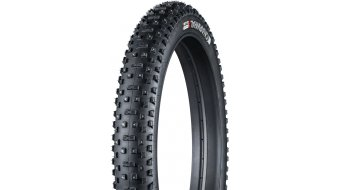 Bontrager Gnarwhal Spike 26 Fatbike cubierta(-as) plegable(-es) (26x3.80) Tubeless Ready negro