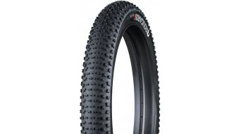 Bontrager Rougarou 26 Fatbike cubierta(-as) plegable(-es) (26x3.80) Tubeless Ready negro