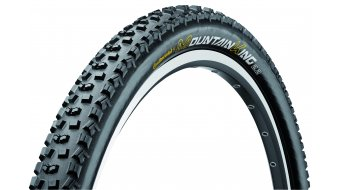 Continental Mountain King II RaceSport folding tire 60-559 (26x2.4) black skin 3/180tpi BlackChili-compound