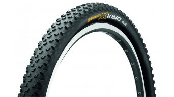 Continental X-King RaceSport 650B folding tire black 3/180tpi BlackChili-compound