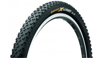 Continental X-King ProTection 650B folding tire black 4/240tpi BlackChili-compound