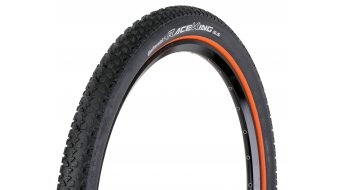 Continental Race King RaceSport Limited Edition cubierta(-as) plegable(-es) 55-559 (26x2.2) negro(-a)-naranja/Logo color plata 3/180tpi BlackChili-Compound
