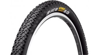 Continental Race King ProTection folding tire 55-559 (26x2.20) black Skin 4/240tpi BlackChili-compound Made in Germany