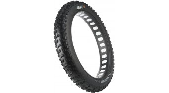 45NRTH Flowbeist Fatbike cubierta(-as) plegable(-es) (26x4.6) 120tpi Tubeless Ready