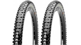 Maxxis HighRoller II folding tire set 61-559 (26x2.40) EXO Karkasse 60 TPI