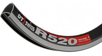 DT Swiss R-520 Road rim hole black 520g