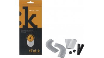 Fizik Bar: gel handle bar band cushioning (4 pcs.: 2 arched/2 straight )