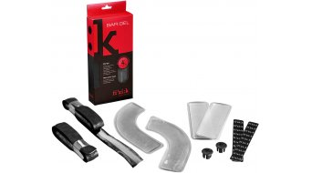 Fizik gel handle bar tape black incl. 4 Pads (2 arched, 2 straight )
