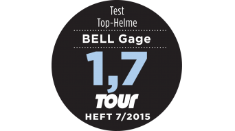 Bell Gage Helm Road-Helm Gr. S (52-56cm) infrared split Mod. 2015