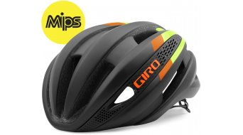 Giro Synthe MIPS Helm Rennrad-Helm Gr. S black/lime/flame Mod. 2016