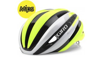 Giro Synthe MIPS Helm Rennrad-Helm Gr. S white/highlight yellow Mod. 2016
