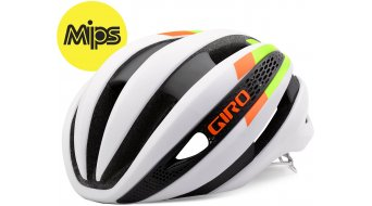 Giro Synthe MIPS Helm Rennrad-Helm Gr. S white/lime/flame Mod. 2016