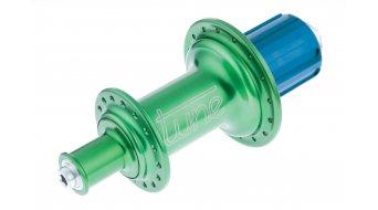 Tune MAG 170 Rennrad Hinterradnabe 16h QR 130mm grün (Shimano-Freilauf)
