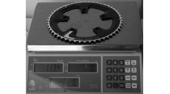 FSA Road Super Compact Rennrad Kettenblatt 10/11-Fach 50-Zähne (110mm) schwarz