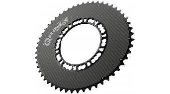 ROTOR Q-Ring Aero Carbon Kettenblatt 5-Loch (110mm) schwarz/carbon (außen)
