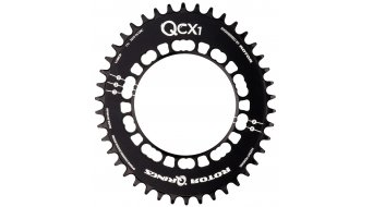 ROTOR Q-Ring Cyclocross CX1 1-velocidades plato 5 agujeros (110mm) negro(-a)