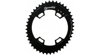 Rotor QXL-Ring Shimano Road 2x11 Kettenblatt 4-Loch (110mm) schwarz (innen)