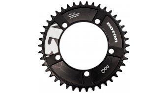 ROTOR NoQ-aro Cyclocross CX1 1-velocidades plato 5 agujeros (144mm) negro(-a)