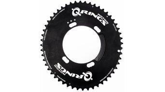 ROTOR Q-Ring Aero Kettenblatt 53T 4-Loch (110mm) schwarz (außen)