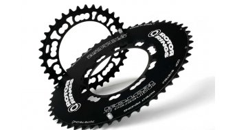 ROTOR Q-Ring Time Trial Aero Kettenblatt 5-Arm (110mm) schwarz