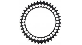 ROTOR Q-Ring Road corona catena a 5 bracci (130mm) nero (interno )
