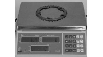 Shimano 105 10 vel. corona catena 34T per Compact- guarnitura argento FC-5750
