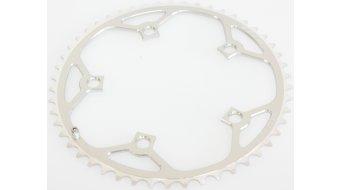 Tiso Road Shimano corona catena 50 denti a 5 bracci (130mm) argento