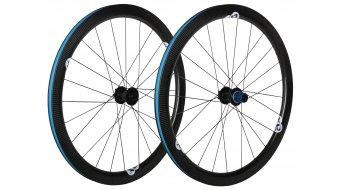 AX Lightness U 45C D Tune Ultra Clincher 3K-carbono bici carretera Disc juego de ruedas 20/24h Shimano/SRAM-piñon libre- TESTLAUFRADSATZ