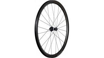 Bontrager Aeolus 3 Disc Rennradlaufrad Drahtreifen Tubeless Ready black