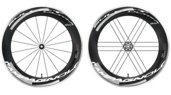 Campagnolo BULLET ULTRA Dark Label 80 juego de ruedas con acero-rodamiento para cubierta(-as) alambre