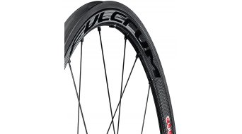 "Fulcrum Racing Speed XLR 35 Dark Tubular 28"" Carbon Laufrad Satz HG 11-fach schwarz 2014"