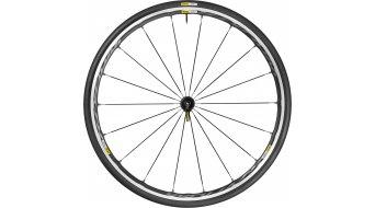 Mavic Ksyrium Elite negro bici carretera rueda completa-/sistema cubierta rueda delantera cubierta(-as) alambre negro Mod. 2016- MODELO DE DEMONSTRACIÓN de Rücknahme de bici completa