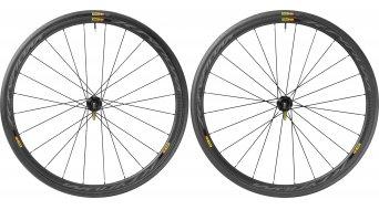 Mavic Ksyrium Pro Carbone SL C Disc bici carretera rueda completa-/sistema cubierta juego Centerlock M11 cubierta(-as) alambre negro Mod. 2016