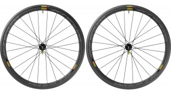 Mavic Ksyrium Pro Carbone SL C Disc bici carretera rueda completa-/sistema cubierta juego 6 agujeros cubierta(-as) alambre negro Mod. 2016