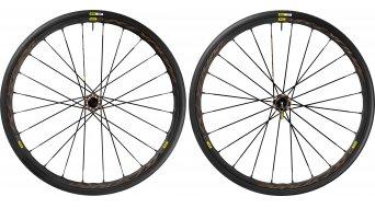 Mavic Ksyrium Pro Allroad 28 Disc bici carretera rueda completa-/sistema cubierta juego 6 agujeros M11 cubierta(-as) alambre negro Mod. 2016